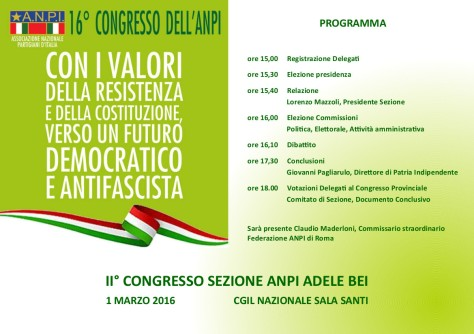 Congresso programma